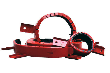 Firestop Pipe Collar for Plastic Pipes.