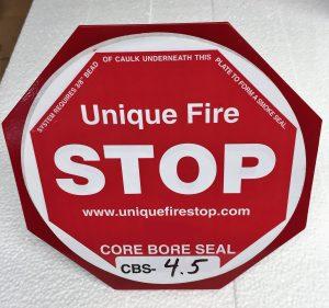 Core Bore Seal Firestop System