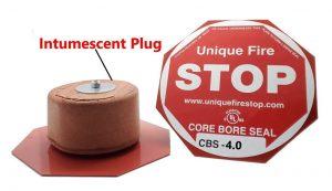 Unique Fire Stop Products Core Bore System