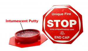 Unique Fire Stop Products Threaded End Caps